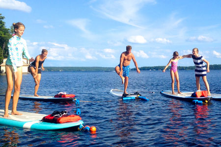 Muskoka Stand Up Paddle Board